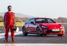 Toyota, pilote aveugle Amit réalise le 9e temps sur le circuit Top Gear
