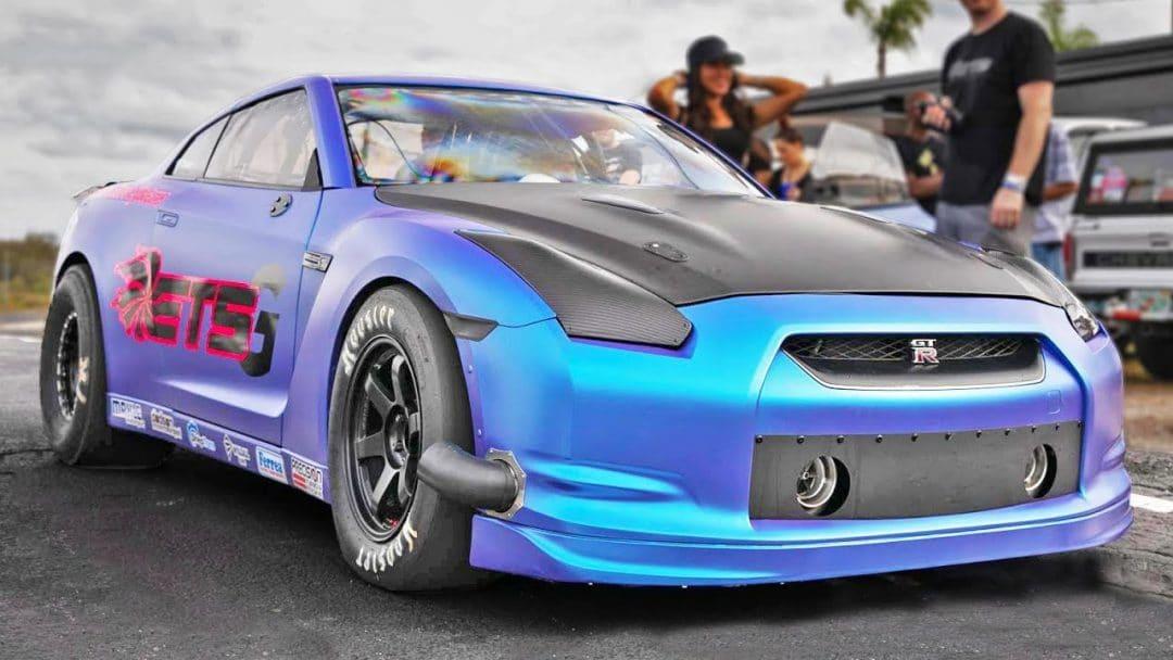 Nissan GT-R de 3000 ch