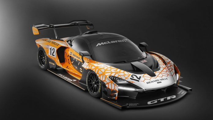 McLaren Senna GTR (Concept) 3/4 avant