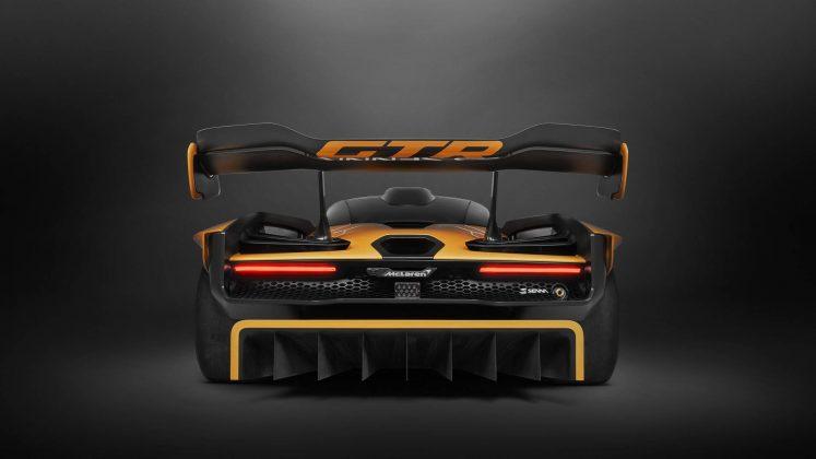McLaren Senna GTR (Concept) arrière diffuseur