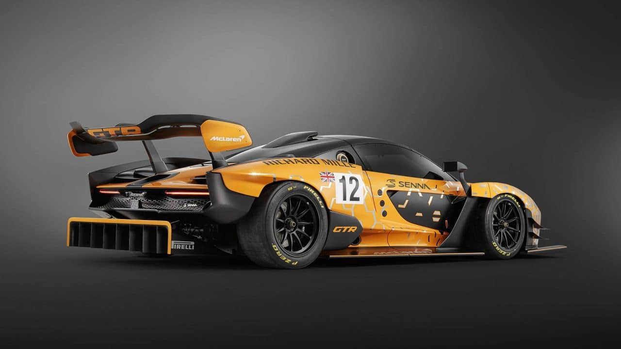 McLaren Senna GTR (Concept) arrière 3/4