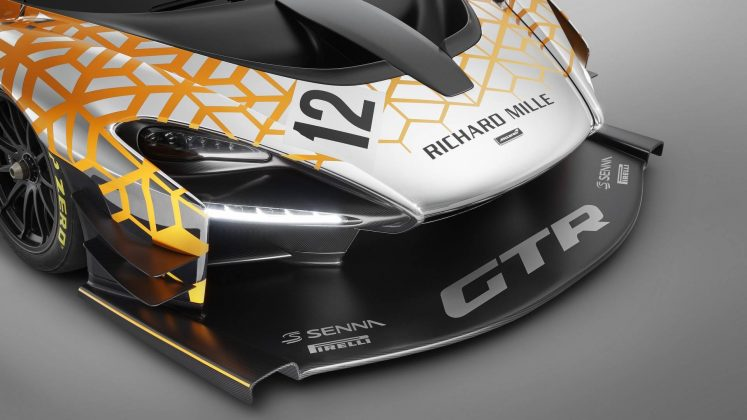 McLaren Senna GTR (Concept) spoiler avant