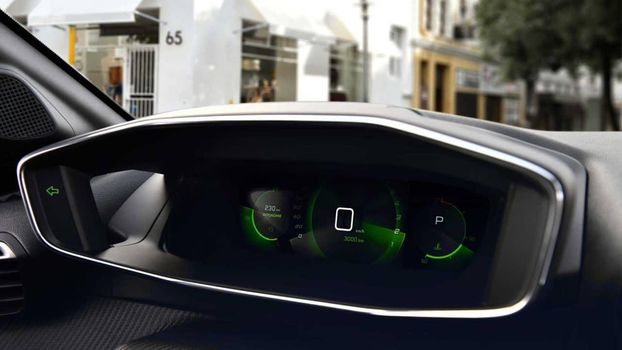 i-Cockpit de la Peugeot 208 (2019)