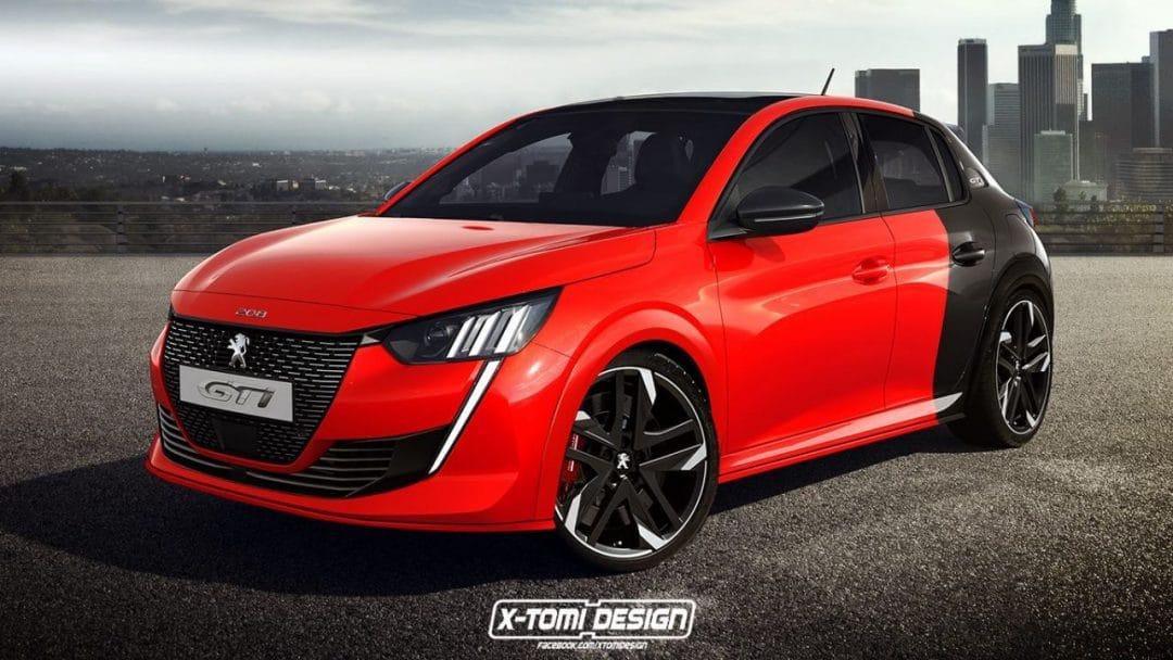 Peugeot 208 GTi par X-Tomi Design