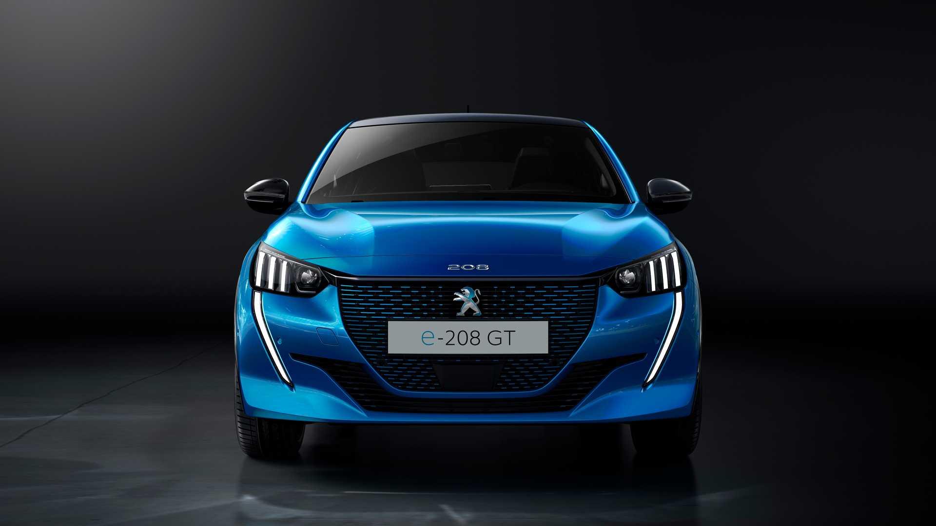 Voitures électriques en 2020 : Peugeot e-208