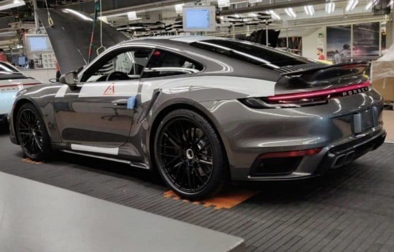 Fuite de la prochaine Porsche 911 Turbo (type 992)