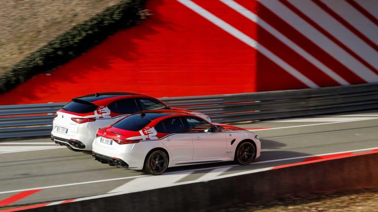 Fonds d'écran auto : Stelvio et Giulia Alfa Romeo Racing - Salon de Genève 2019