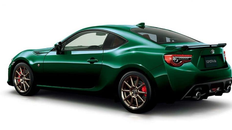 Toyota GT86 British Green Limited (1)