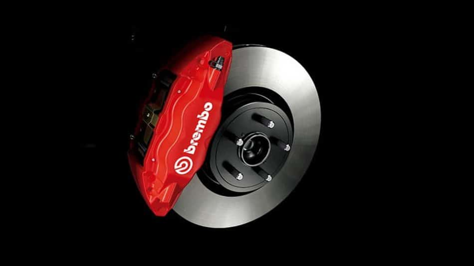 Etriers Brembo - Toyota GT86 British Green Limited