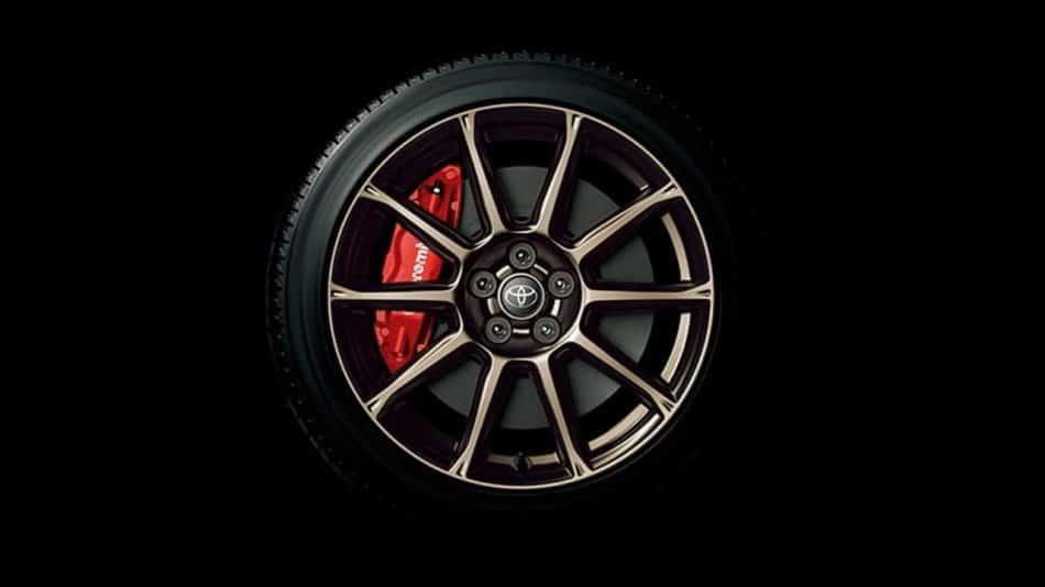 Jantes allégées dorées - Toyota GT86British Green Limited