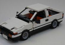 Toyota AE86 Trueno Lego