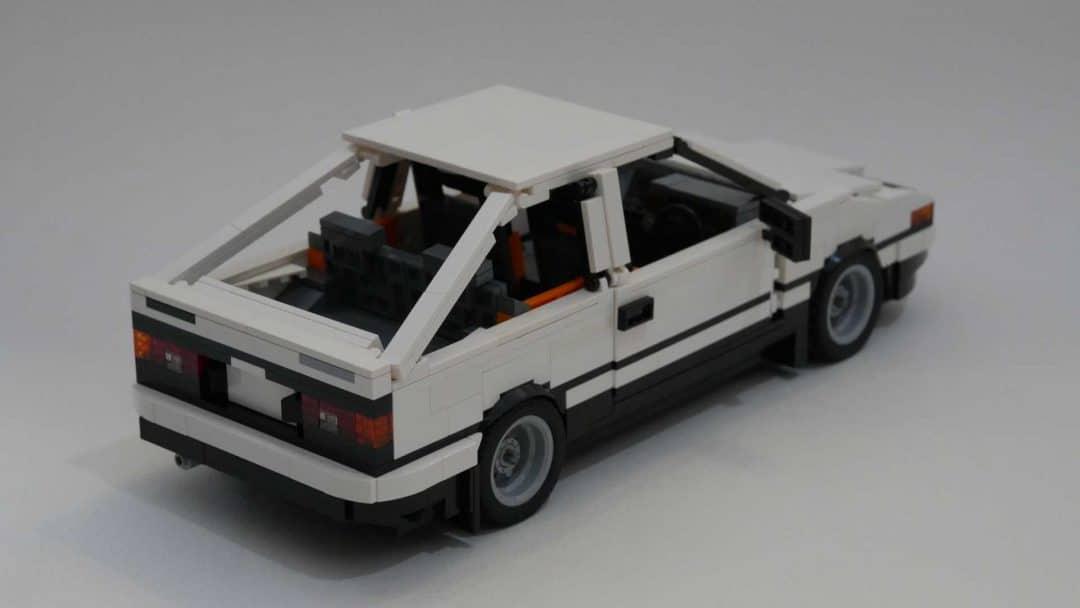 Toyota AE86 Trueno Lego arrière
