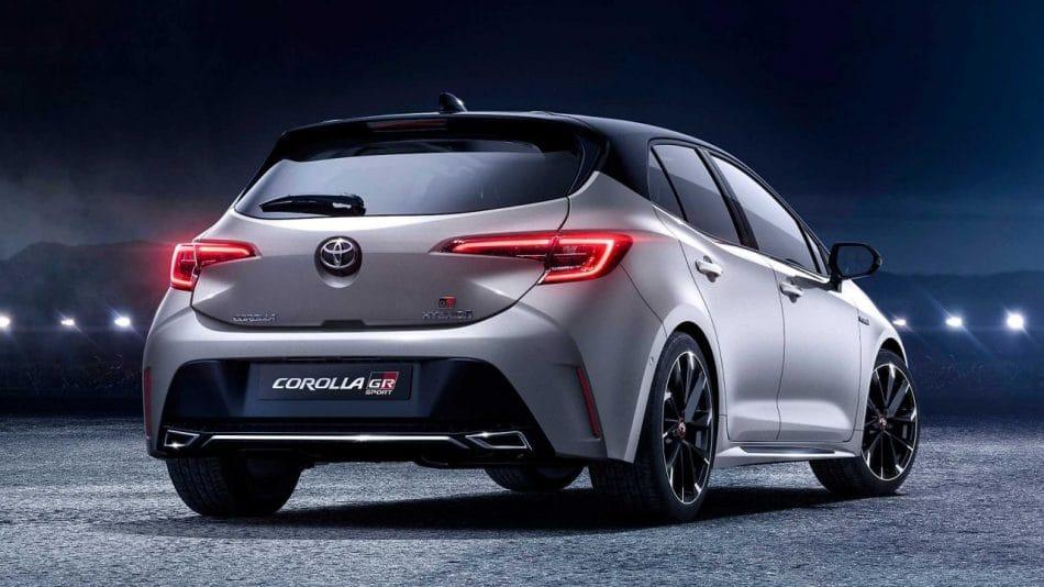 Toyota Corolla GR Sport (arrière)