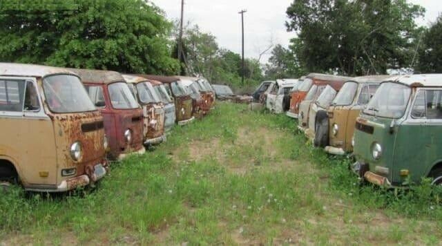 Vente de 55 VW Combi