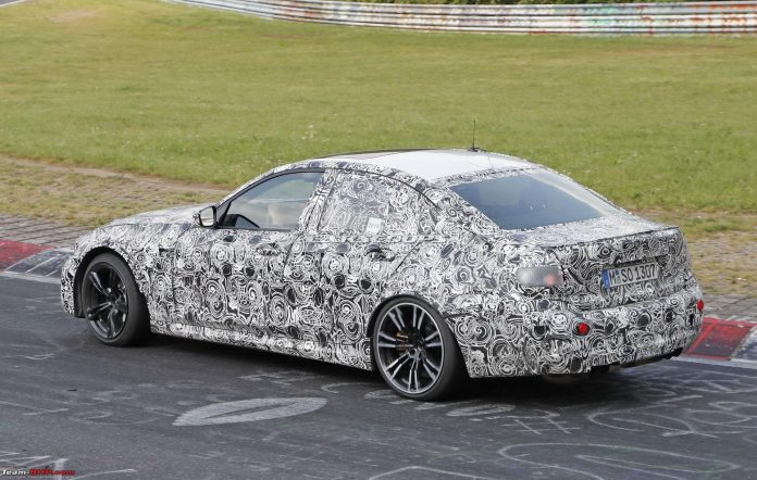 2019 BMW M3 spyshot