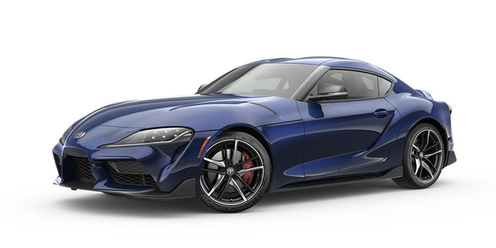 Toyota Supra : Downshift Blue