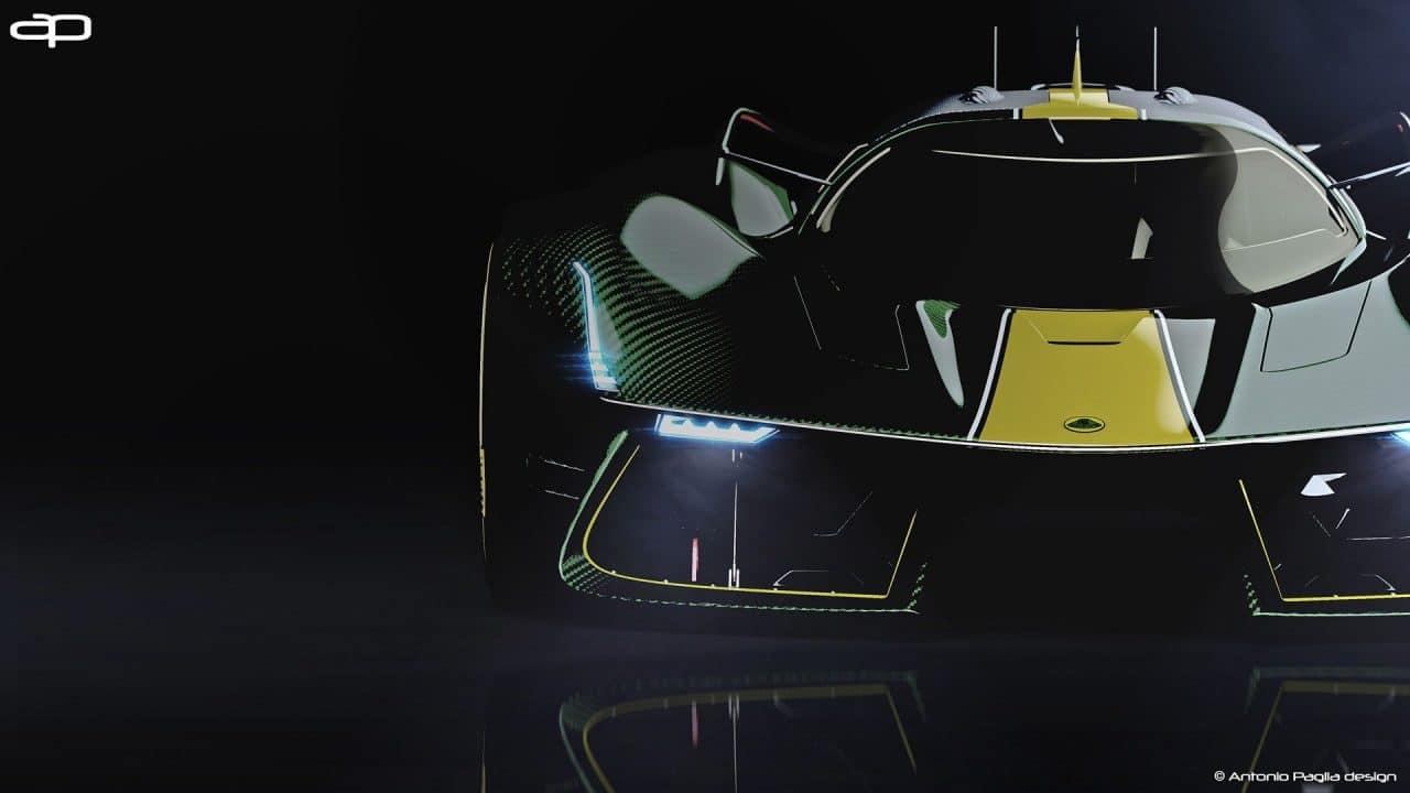 Lotus hypercar (concept)