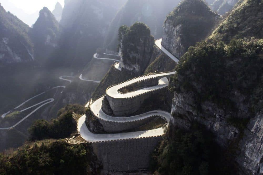 Volkswagen va gravir le Mont Tianmen avec l'ID R