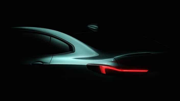 BMW Série 2 Gran Coupé teaser