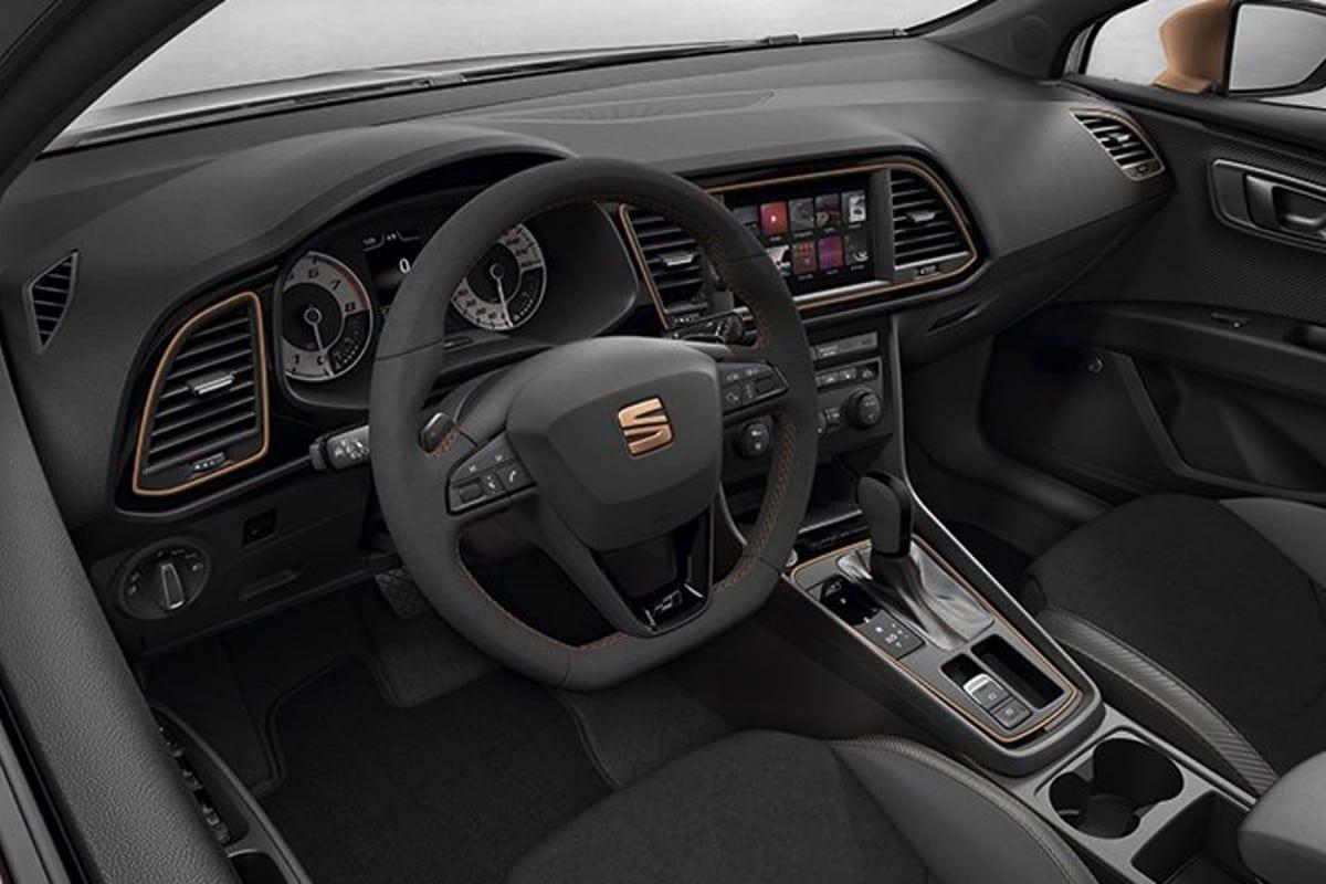 Intérieur Seat Leon Cupra