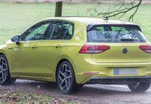 Volkswagen Golf 8 Spyshot