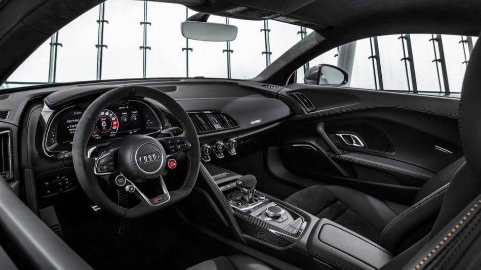 Intérieur Audi R8 V10 Decinnium