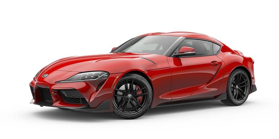 Toyota Supra : Renaissance Red