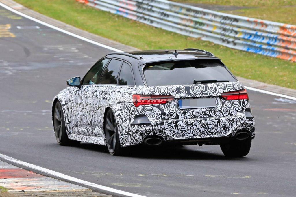2019 Audi RS6 Spyshot