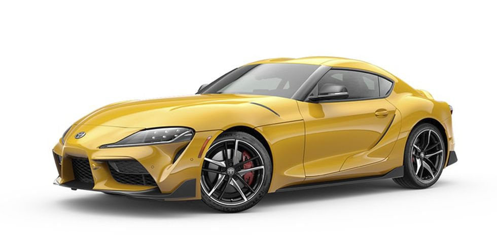 Toyota Supra : Nitro Yellow