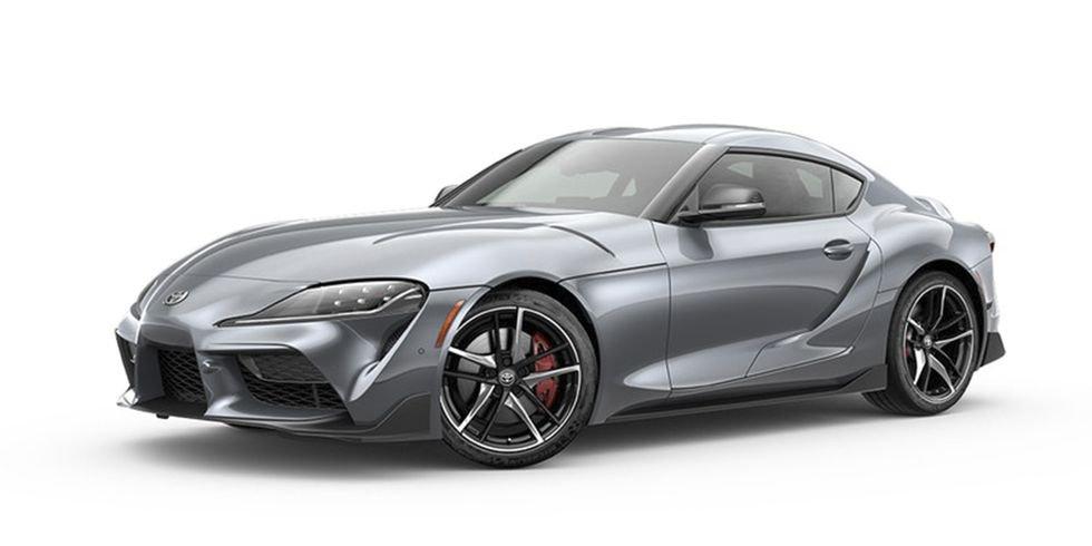 Toyota Supra : Phantom Matte Grey