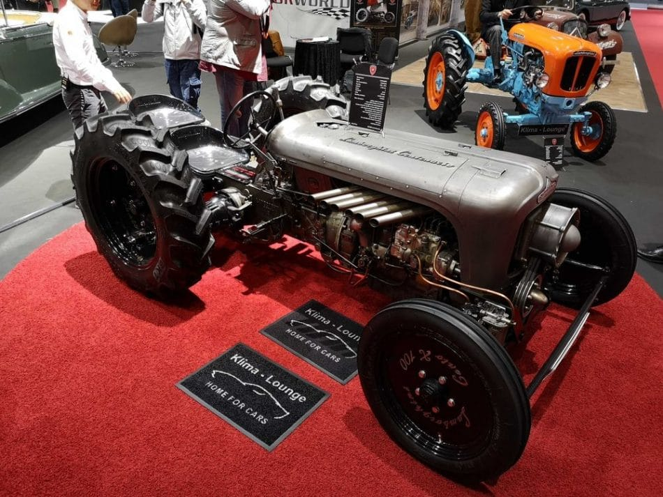 Salon de Genève 2019 - tracteur Lamborghini