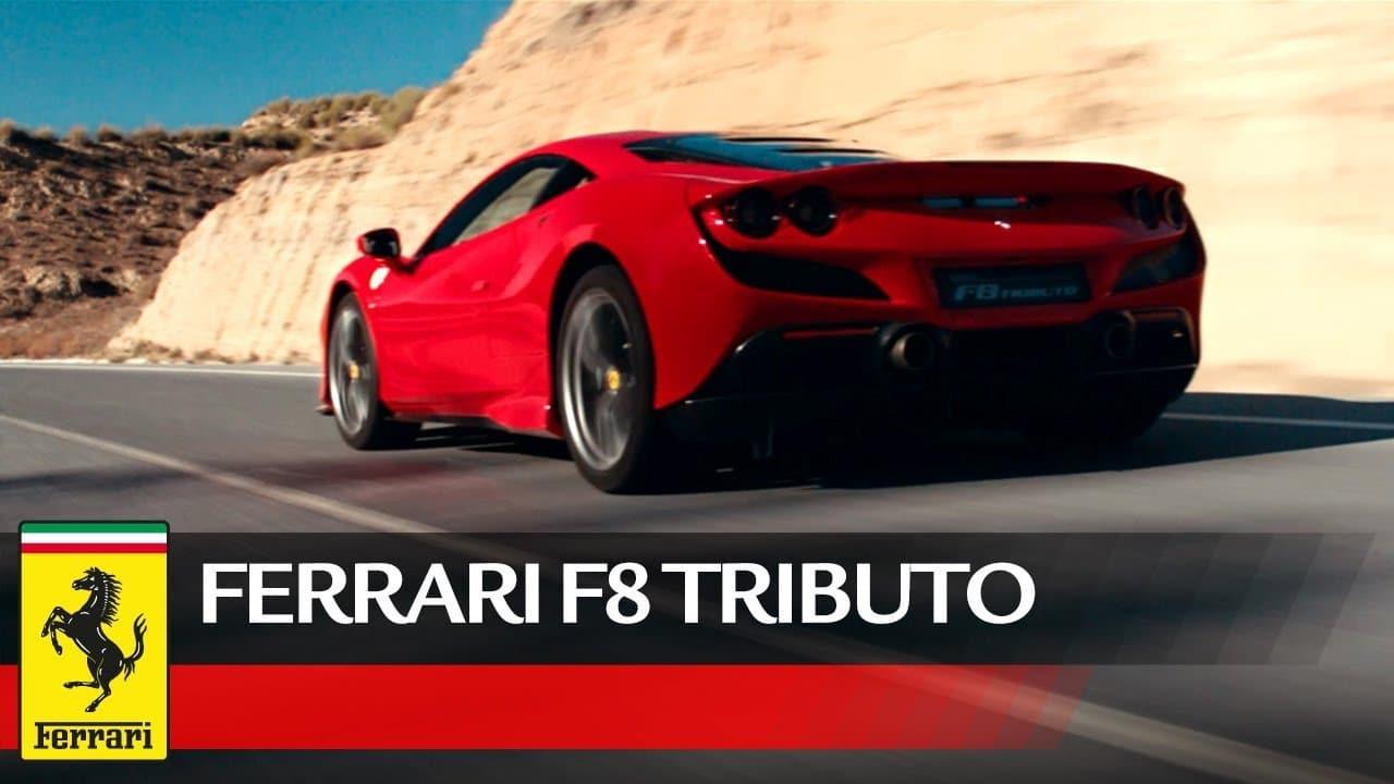 Vidéo Ferrari F8 tributo