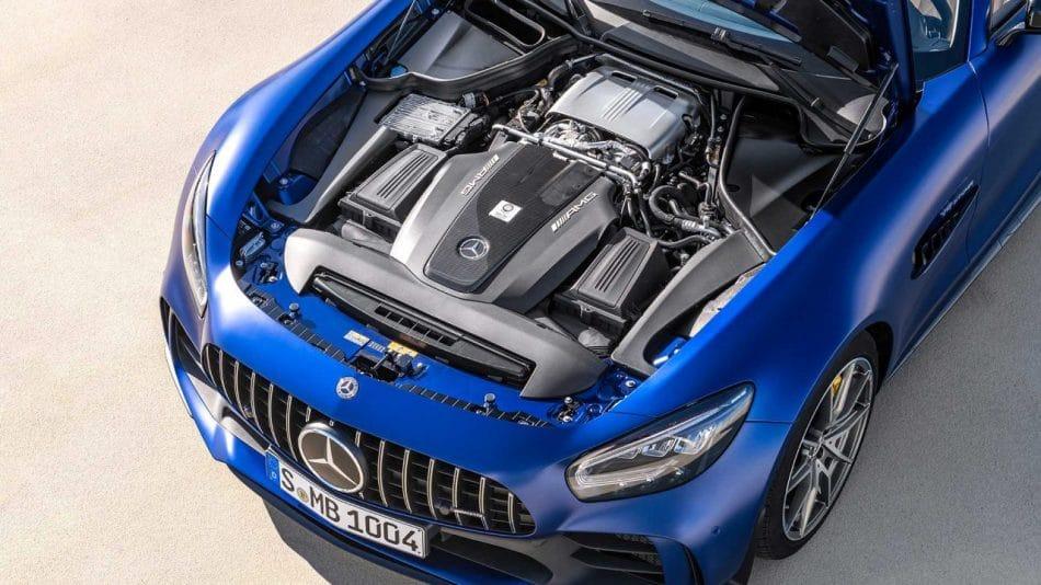 Moteur Mercedes-AMG GTR Roadster (2019)
