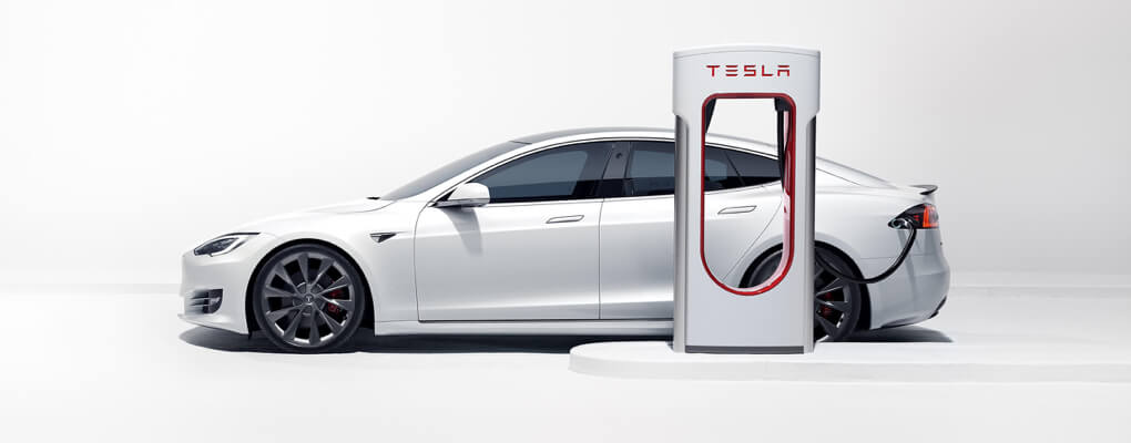 Exemple de supercharger avec une Model S