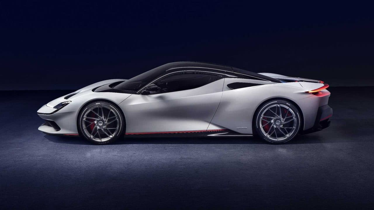 Voitures électriques en 2020 : Pininfarina Battista