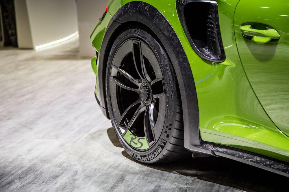 Jantes aéro Porsche 911 GT2 RS