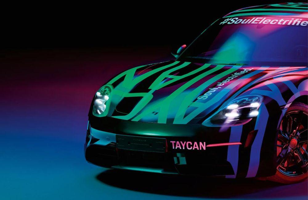 Porsche Taycan 100% électrique