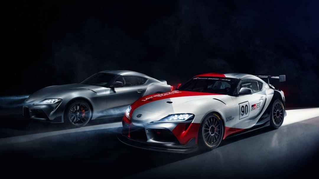 Concepts Toyota GR Supra GT4 & TRD