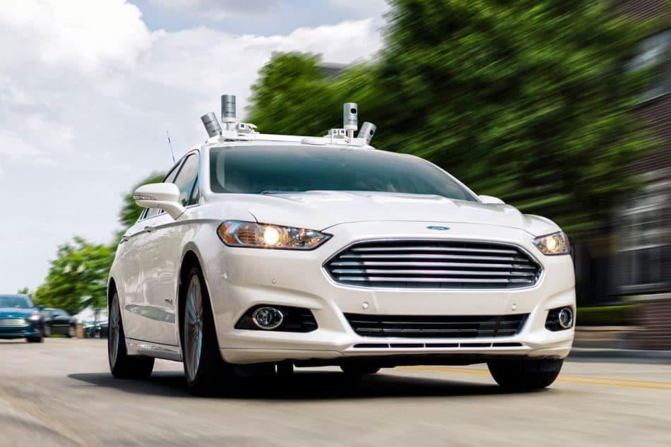 Ford Mondeo autonome