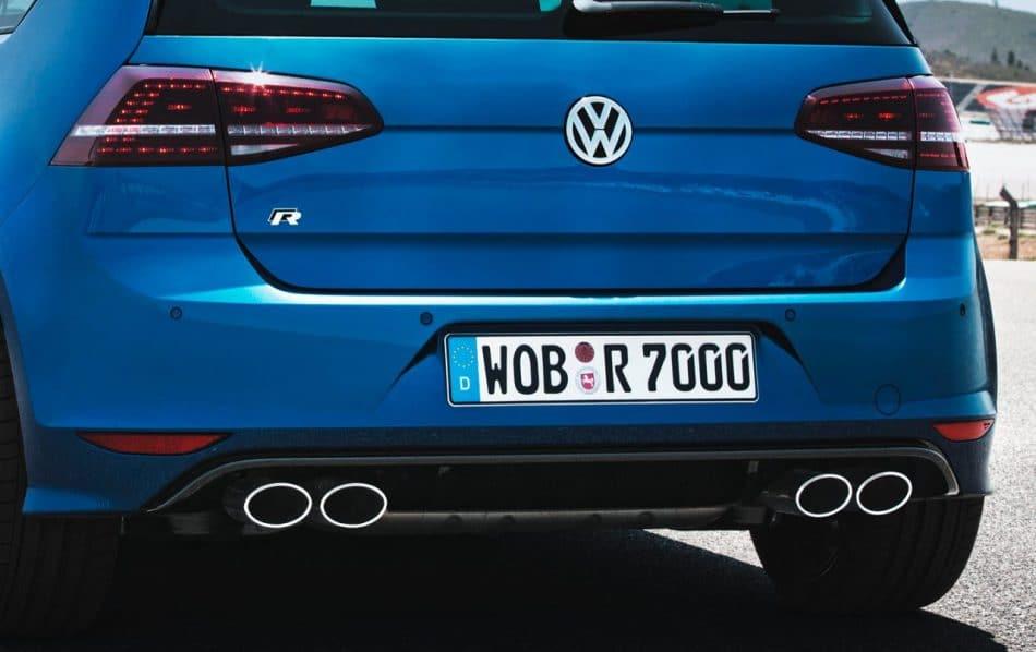 VW Golf R arrière