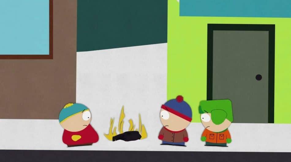 South Park Tesla Explosion