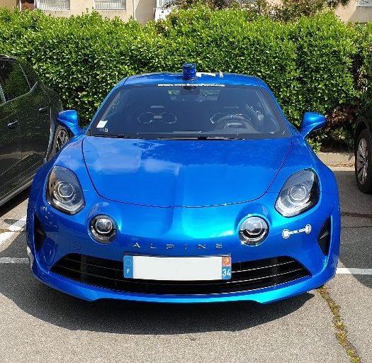 Alpine A110 Gendarme