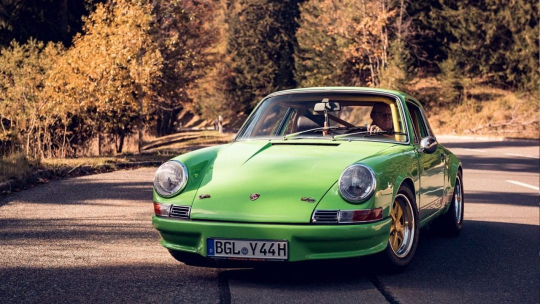 La Porsche 911 T de Manfred Huber
