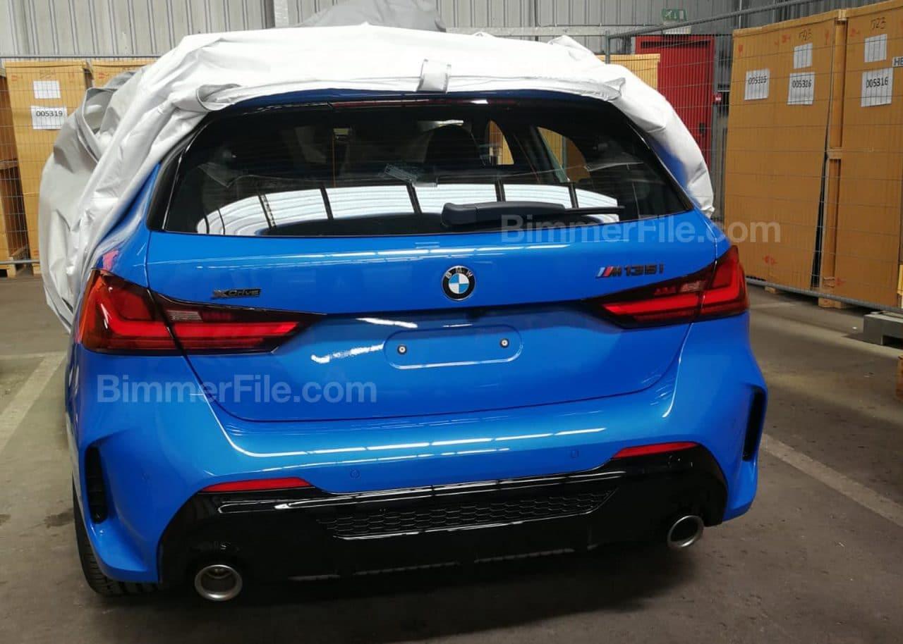 2019 BMW M135i arrière