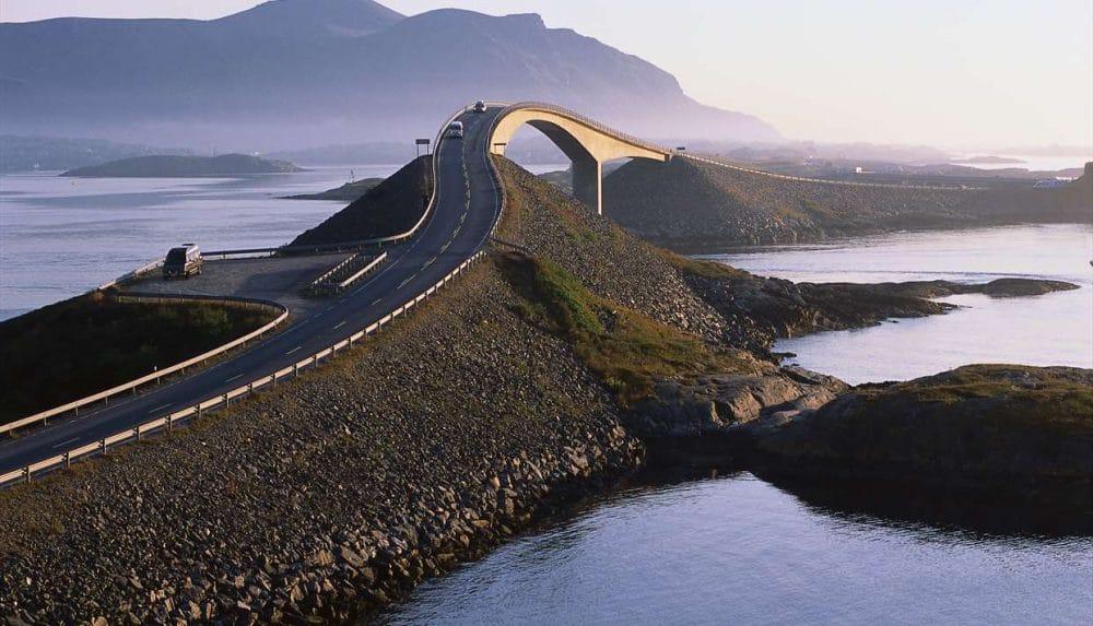 Atlantic road (Norvège)