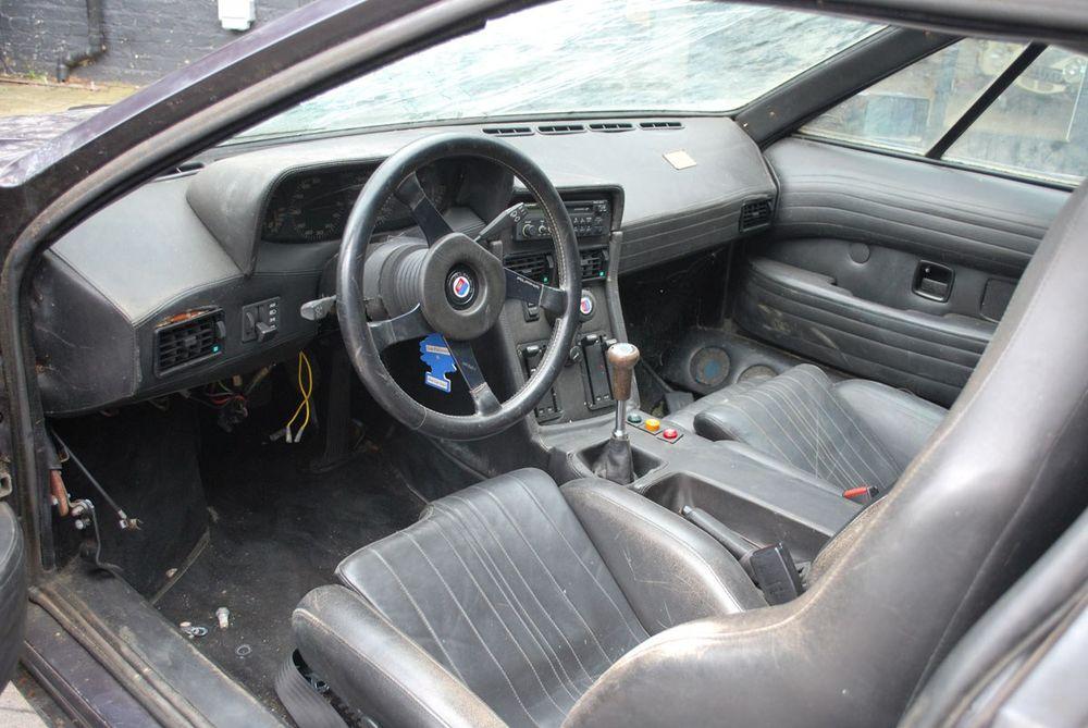 BMW M1 de 1979 à vendre