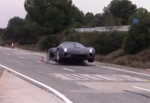 Crash Koenigsegg test
