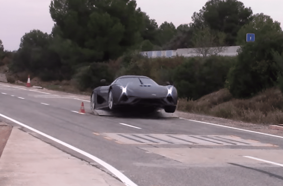 Crash Koenigsegg test