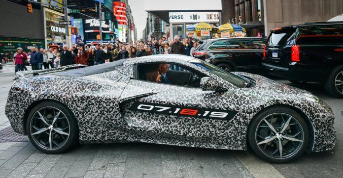 Nouvelle Chevrolet Corvette C8