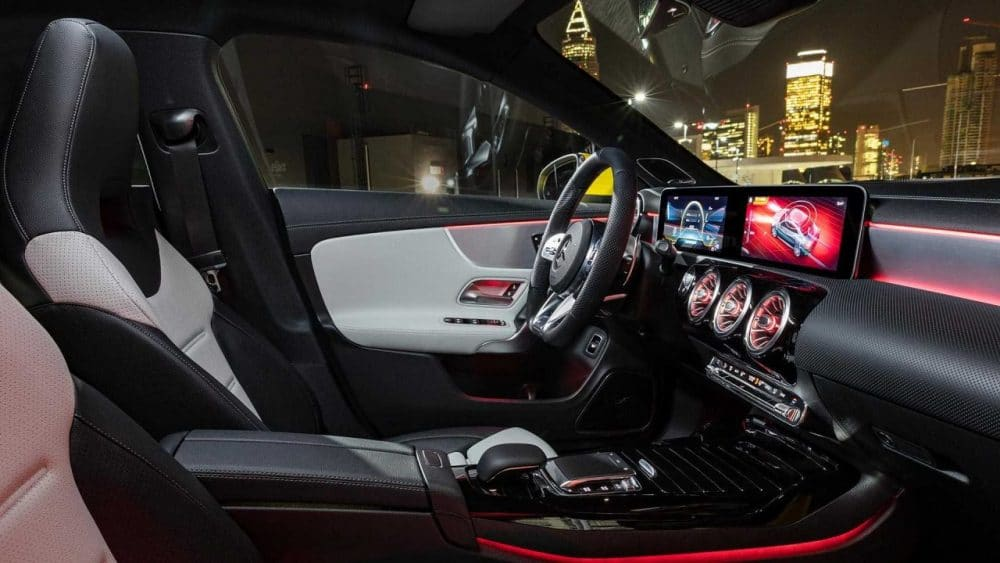 Intérieur Mercedes CLA 35 AMG (2019)